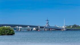 Ford Island Bridge Fotos de archivo libres de regalías