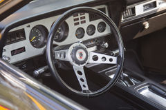 1978 Ford King Cobra Interior Royalty-vrije Stock Foto