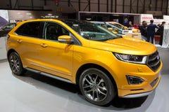 2016 Ford krawędzi samochód Zdjęcie Stock