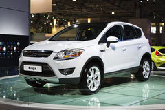 Ford Kuga à Moscou Internatio Image stock