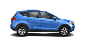 Ford Kuga. SUV car isolated on white royalty free stock photography