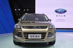Ford kuga suv front Stock Image