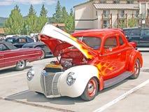 Ford-Kupee 1940 Lizenzfreie Stockfotos