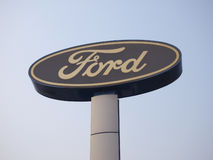 Ford Logo royalty free stock photo