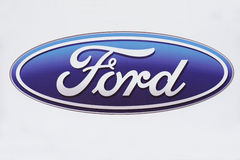 Ford logo Stock Images