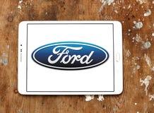 Ford Logo royaltyfri foto