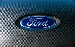 Ford Logo royaltyfria foton