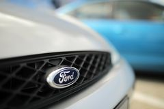 Ford logo royalty free stock photography