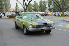 Ford Maverick classic car on display Royalty Free Stock Images
