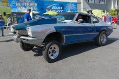Ford Maverick on display Royalty Free Stock Image