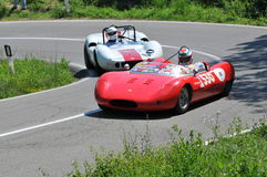 Ford and Mc Laren -Vernasca Silver Flag 2011 Royalty Free Stock Image