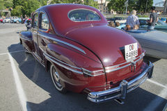Ford Mercury Eight 2 dörrhardtop 1948 Royaltyfri Bild