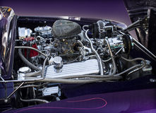 1950 Ford Mercury engine Royalty Free Stock Image