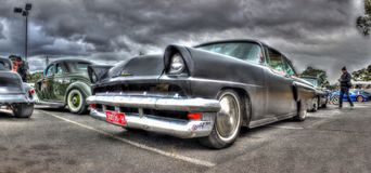 Ford Mercury negro Imagen de archivo