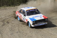 Ford MkII Escort, Plains Rally royalty free stock images