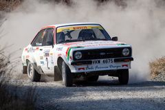 Ford Mkii Escort Rally Car foto de stock royalty free