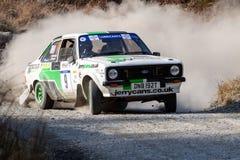 Ford Mkii Escort Rally Car fotos de archivo libres de regalías