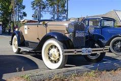 A Ford modèle dans le parking Images stock