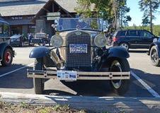 A Ford modèle dans le parking Image libre de droits