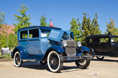 Ford Model 1928 A/AR Tudor Sedan images libres de droits