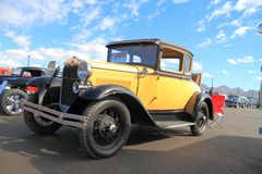 USA: Antique Car: Ford, Model A (1930) Royalty Free Stock Photo