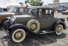 1930 Ford Model A Car Side View Stock Photos