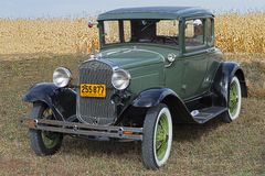 1931 Ford Model A Coupe Royalty Free Stock Images