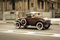 Ford Model A Deluxe Cabriolet Stock Photo
