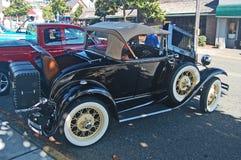 1930 Ford Model een Open tweepersoonsauto Stock Afbeelding