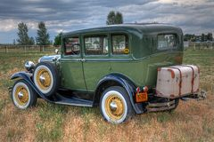 1931 Ford Model een Sedan Stock Foto's