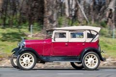 1928 Ford Model een Tourer Stock Afbeeldingen