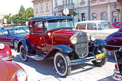 Ford Model en lyx- Tudor Royaltyfri Foto