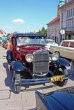 Ford Model en lyx- Tudor arkivfoton