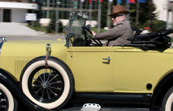 Ford Model en roadster Royaltyfri Bild