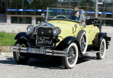 Ford Model en roadster Fotografering för Bildbyråer