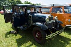 Ford Model en stadbilSedan av 1928-1931 Arkivfoto