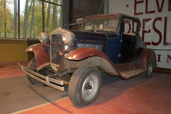 Ford Model A (1927) in the Museum. Zelenogorsk Royalty Free Stock Photography