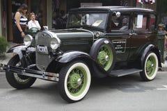 Ford Model 1931 A på auto show Royaltyfri Fotografi