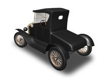 Ford Model T 3. 3D render of Ford Model T on white background Stock Image