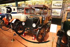 1908 Ford Model T. ISTANBUL, TURKEY - JULY 29, 2016: 1908 Ford Model T in Rahmi M. Koc Industrial Museum. Koc museum has one of the biggest classic car Stock Photos