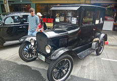 Ford Model T kupé 1925 Arkivbild