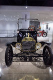 1915 Ford Model T Runabout. Los Angeles, CA, USA — April 16, 2016: 1915 Ford Model T Runabout was a gift to the Petersen Automotive Museum in Los Angeles Stock Images