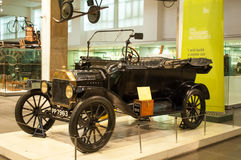 Ford Model T 1916 ,Science museum, London, UK Royalty Free Stock Image