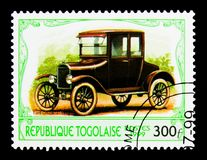 Ford Model 1923 T, serie d'automobiles d'antiquités, vers 1999 Photo stock