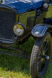 Ford Model 1923 T som turnerar bilen Royaltyfria Foton