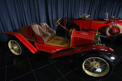 1914 Ford Model T Speedster. Produced in 1914 is on display in a private collection in Bucharest, Romania Stock Photography