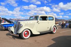 Antique Car: 1933 Ford Royalty Free Stock Photography