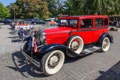 Ford modellieren A, 1931, Auto des alten Hasen lizenzfreies stockbild