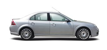 Ford Mondeo isolated Royalty Free Stock Photo