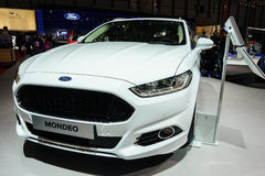 Ford Mondeo, Motor Show Geneve 2015. Stock Images